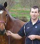Equine dentist Ben Neville
