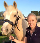 Equine dentist Clare Brown